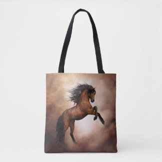 Wild Horse All-Over-Print Tote Bag