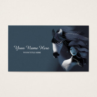 Wild Horse and a Girl Business Card