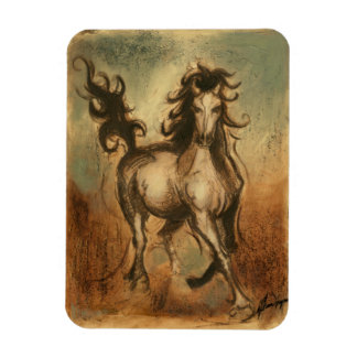 Wild Horse and Warm Colors Magnet