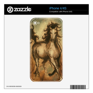 Wild Horse and Warm Colors Skins For iPhone 4