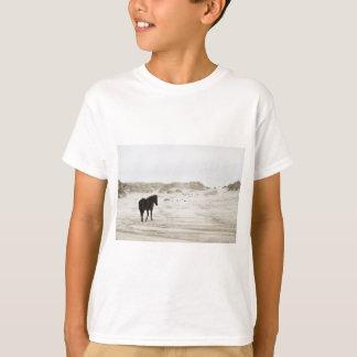 wild horse at Corolla Beach T-Shirt
