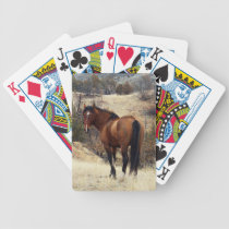 Wild Horse Bicycle Playing Cards