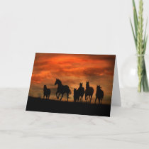 Wild Horse Birthday Card from a group