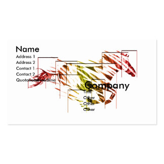 wild horse Double-Sided standard business cards (Pack of 100)