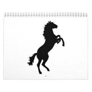Wild horse calendar