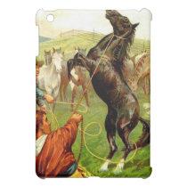 Wild Horse Cowboy IPad Case