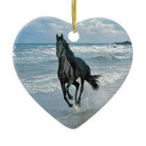 Wild Horse Dreams Ceramic Ornament
