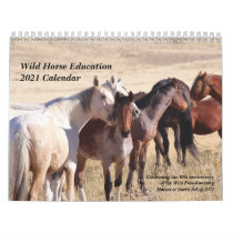 Wild Horse Education 2021 Calendar
