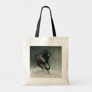 Wild Horse Green Tote Bag