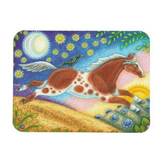 Wild Horse Hill Folk Art MAGNET Susan Brack