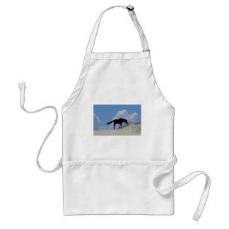 Wild Horse in OBX Adult Apron