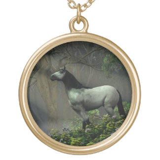 Wild Horse in the Forest Necklaces