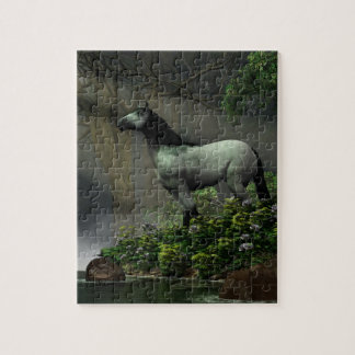 Wild Horse in the Forest Puzzle