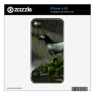 Wild Horse in the Forest iPhone 4S Decal