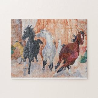 Wild Horse Jigsaw Puzzle