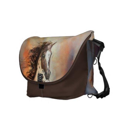 Wild Horse Large Messenger Bag