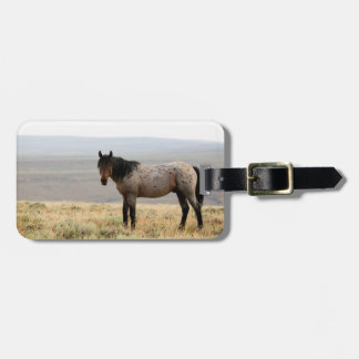 Wild Horse Luggage Tag