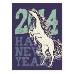 Wild Horse (New Year Card) Post Cards