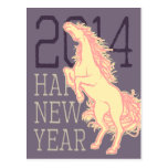Wild Horse (New Year Card) Postcards