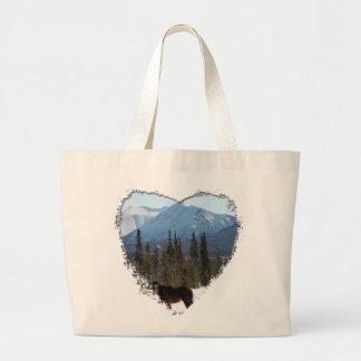 Wild Horse on Alaska Highway Bags
