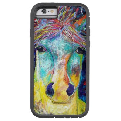 Wild Horse or El Caballo Salvaje in Spanish Tough Xtreme iPhone 6 Case