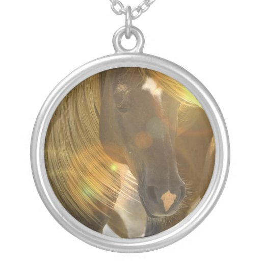 Wild Horse Photo Necklace