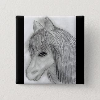 Wild Horse Pinback Button