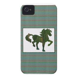 Wild Horse Prancing iPhone 4 Case-Mate Cases
