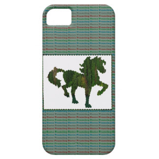 Wild Horse Prancing iPhone 5 Covers