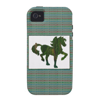 Wild Horse Prancing iPhone 4/4S Covers
