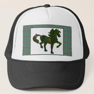 Wild Horse Prancing Trucker Hat
