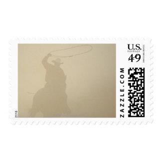 Wild horse round-up stamps