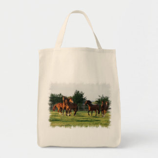 Wild Horse Roundup Grocery Bag