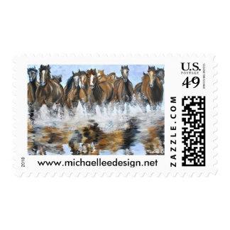 Wild Horse Stamps