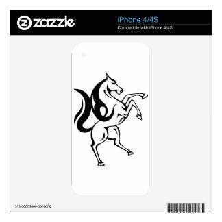 Wild Horse Vector Decals For iPhone 4S
