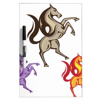 Wild Horse Vector Dry-Erase Board
