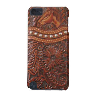 """""""Wild Horse"""" Western Tooled Leather IPod Touch Cas iPod Touch 5G Covers"""