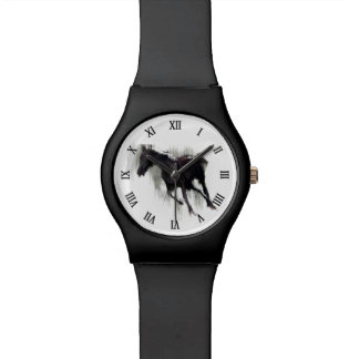 "Wild Horse ""Year of the Horse"" Equine Artwork Wristwatch"