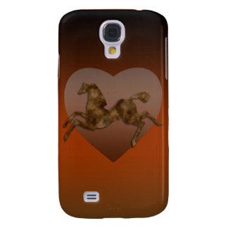Wild Horses #1 Caramel Cream Galaxy S4 Case