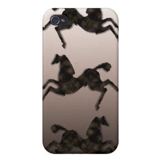 Wild Horses #2 Night Cloud iPhone 4 Case