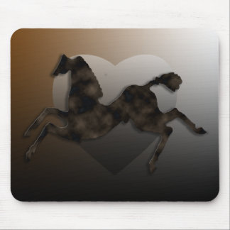 Wild Horses #2 Night Cloud Mouse Pad