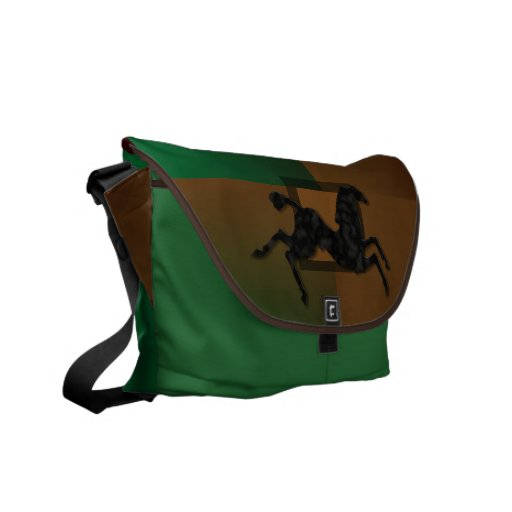 Wild Horses #6 Shadowy Commuter Bags