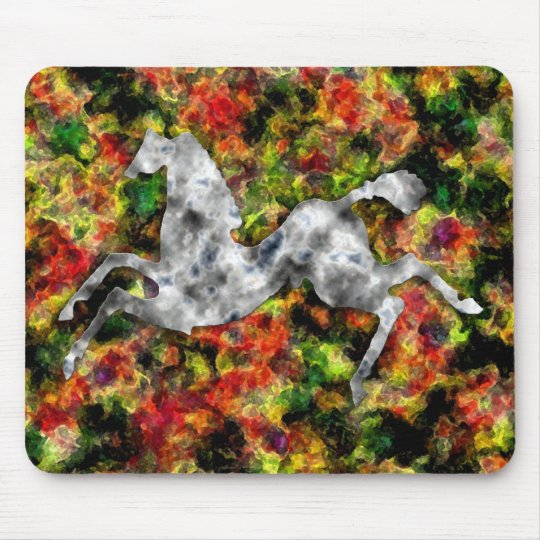 Wild Horses #8 Silver Frost Mouse Pad