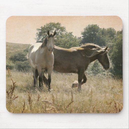 wild horses alfombrilla de ratones