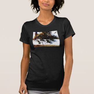 Wild Horses and Eagles Backyard Day Dreaming T Shirt