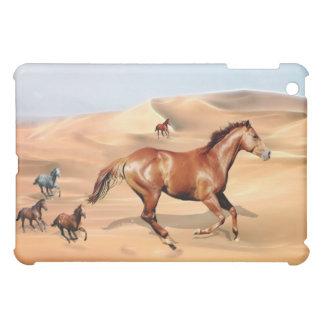 Wild horses and sand dunes ipad cover for the iPad mini