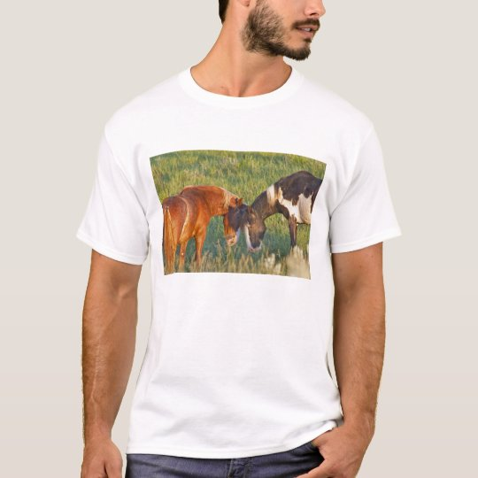 Wild Horses at Theodore Roosevelt National 2 T-Shirt