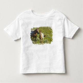 Wild Horses at Theodore Roosevelt National Toddler T-shirt