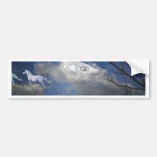 Wild Horses Bumper Sticker