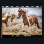 "Wild Horses Calendar<br><div class=""desc"">Wild horses of Sand Wash Basin, Co all photographs by Judy L. Chandlee</div>"